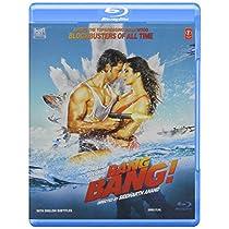 """Bang Bang Hindi Blu Ray Bollywood Film Stg: Hrithik Roshan, Katrina Kaif"""" (2014)"""
