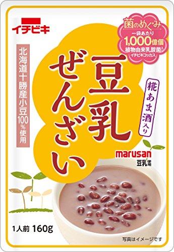 イチビキ 豆乳ぜんざい 糀あま酒入り 160g×10個