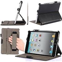 i-BLASON Heated Book Shell Stand Case for Apple iPad mini, Black - 並行輸入品