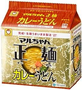 マルちゃん正麺カレーうどん 5P×6個