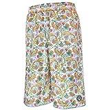 HXB Graphic Mesh Pants 【LUXE FLOWERS】 バスケットボールパンツ バスパン 花柄 ボタニカル