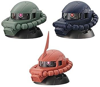 機動戦士ガンダム EXCEED MODEL ZAKU HEAD 【全3種フルコンプセット】