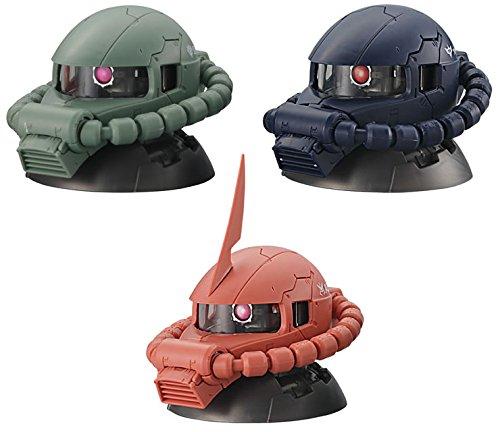 機動戦士ガンダム EXCEED MODEL ZAKU HEAD エクシードモデル ザクヘッド [全3種セット(フルコンプ)]