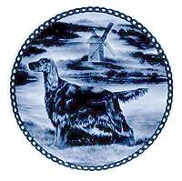 デンマーク製 ドッグ・プレート (犬の絵皿) 直輸入! Irish Setter / アイリッシュ・セター