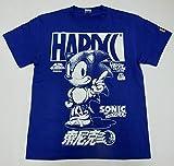 ソニック・ザ・ヘッジホッグTシャツ(音速ロイヤルブルー) (XXL)
