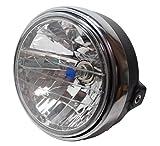 バイク 汎用 社外 CB400SF タイプ マルチリフレクター ヘッドライト 180mm 視界良好 軽量
