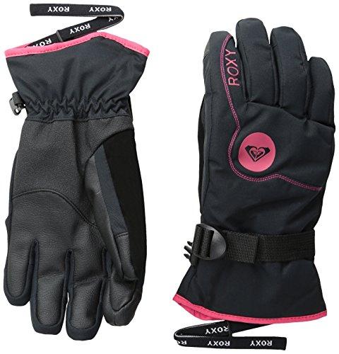Roxy Snow Junior 's Jetty Solid Snow Gloves US サイズ: S カラー: ブラック