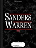 Bernie Sanders Elizabeth Warren 2016 Composition Notebook: College Ruled 9¾ x 7½ 100 Sheets 200 Pages For Writing