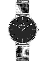 [ダニエルウェリントン]Daniel Wellington 腕時計 ウォッチ ペティット Petite 32mm シルバー シンプル レディース [並行輸入品]