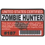 Zombie Hunter Fun Fake ID License by Signs 4 Fun [並行輸入品]