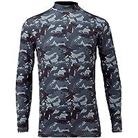 フリーノット(FREE KNOT) 冷感 ヒョウオン レイヤードアンダーシャツ M グレーカモ. Y1625-M-91