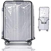 Suitcase Cover Protectors for Fenbo&Four 20 22 24 26 28 30 Inch Luggage Cover for Wheeled Suitcase Luggage Protector Case PVC Baggage Cover Suitcase Protective Cover