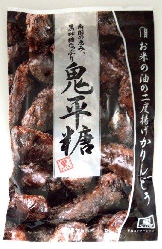 ミヤト製菓 鬼平糖 黒 130g×12袋