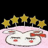 Jtydj 50パックラブハートカップケーキトッパー、ゴールドラメハートカップケーキトッパーゴールデンウェディング、ウェディング、ブライダルまたはベビーシャワー (色 : A002, サイズ : 50pcs)