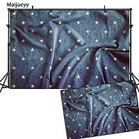 maijoeyy 7x 5ft子Backdrop写真用背景幕ブルーStarry背景子供用写真小道具476589019