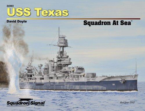 Uss Texas Squadron at Sea