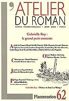 Revue l'atelier du roman t.62