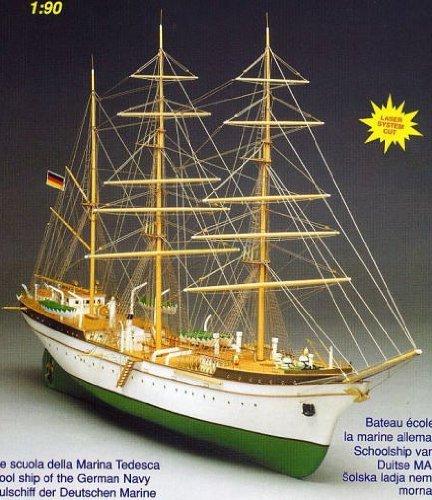 1044 輸入木製帆船模型 マンチュア モデル754 ゴルヒフォック