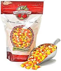 SweetGourmet Halloween Mellowcreme Candy Corn, 1lb by SweetGourmet