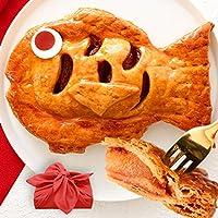 アップルパイ めで鯛 風呂敷包み 誕生日 還暦 内祝い プレゼント お年賀 お菓子 ギフト【13時までのご注文で即日出荷可能】