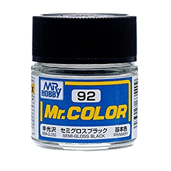 Mr.カラー C92 セミグロスブラック