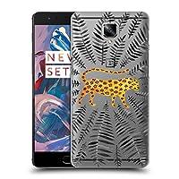 オフィシャル Cat Coquillette ブラックリーフ・ジャガー アニマルズ3 ハードバックケース OnePlus 3 / 3T