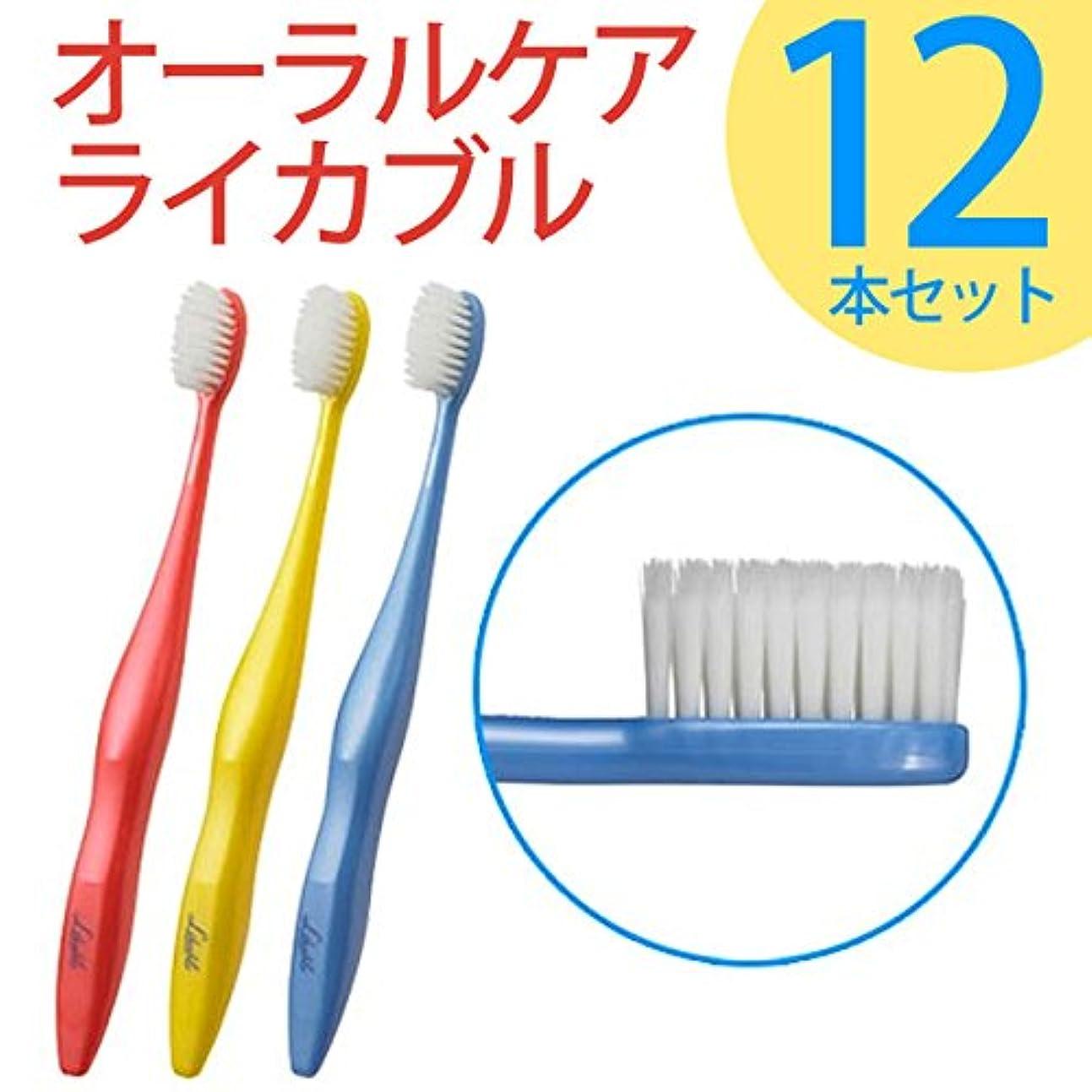 はっきりと失敗アラビア語ライカブル ライカブル メンテナンス用 歯ブラシ 12本セット
