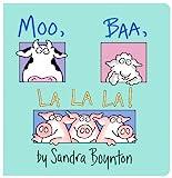 Moo, Baa, La La La! (Boynton Board Books)