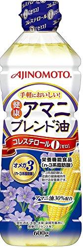 AJINOMOTOの健康アマニブレンド油の亜麻仁油