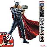 (Thor) - Marvel Avengers Thor Augmented Reality Wall Decal Peel & Stick Removable Vinyl