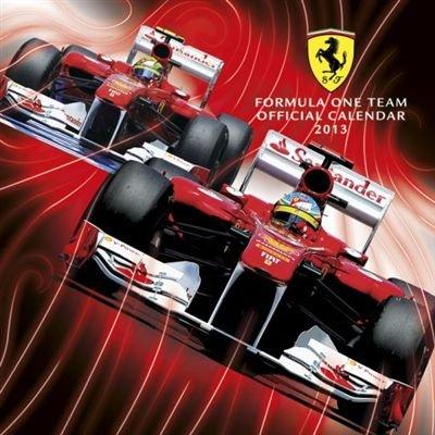 直輸入2013年カレンダー<br> フェラーリ FERRARI F1 (Official Calendar 2013)