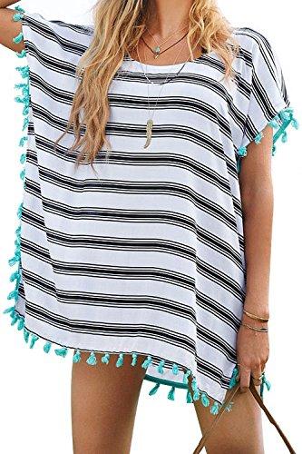 [해외]L-Peach 술 서머 비치 튜닉 사롱 자외선 차단제 비키니 블라우스 수영복 커버 체형 커버 비치웨어 비치 드레스/L-Peach Tassel Summer Beach Tunic Pareo Sunscreen Bikini Blouse Swimwear Cover Body Cover Beach Wear Beach Dress