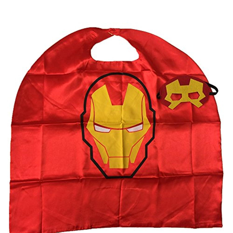 [Starkma]Starkma Kids Iron Man Stain Superhero Cape Girl Costume for Halloween LYSB01CHT4FB6-TOYS [並行輸入品]