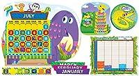 Scholastic教室リソースジングルジャングルカレンダー掲示板( sc553071)