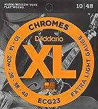 D'Addario ダダリオ エレキギター弦 フラットワウンド Extra Light .010-.048 ECG23 【国内正規品】