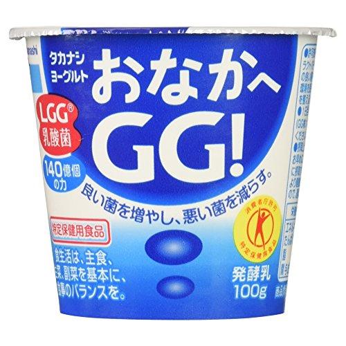 [冷蔵] [トクホ] ヨーグルトおなかへGG! 100g