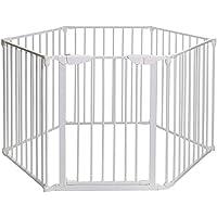 Cuku クークー ハースゲート セーフティーゲート ベビーゲート ベビーサークル サークルゲート ベビーフェンス ペットゲート ゲート 子供 柵 おくだけ ドア付 6面セット 02