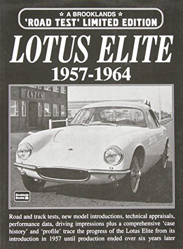 Lotus Elite 1957-1964 Road Test Limited Edition