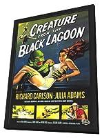 Creature From theブラックLagoon–フレーム入り11x 17映画ポスター