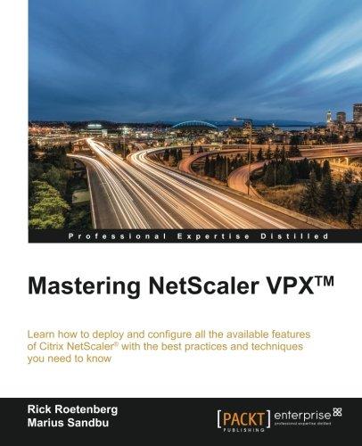 Mastering Netscaler Vpx