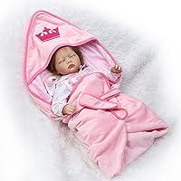 SanyDoll Rebornベビー人形ソフトSilicone 22インチ55 cm磁気Lovely Lifelike Cute Lovely Baby b0763l4tkb