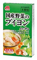 マルトモ 国産野菜のブイヨン 32g×4個