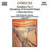 グレツキ:交響曲第3番「悲歌のシンフォニー」/3つの古代風小品
