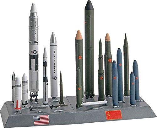 アメリカレベル 1/144 アメリカ/ソビエト ミサイルセット 7860