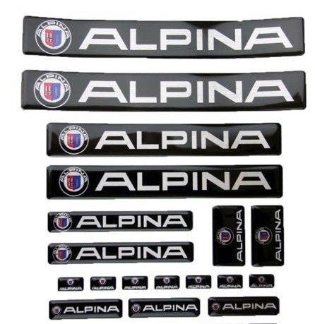 ビーエムダブリュ アルピナBMW-ALPINA 3D カーステッカー シール エンブレム [並行輸入品]