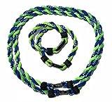 S 'beauty 2ロープチタンスポーツTornadoネックレス親子組み合わせ–2個ネックレスと2個ブレスレット