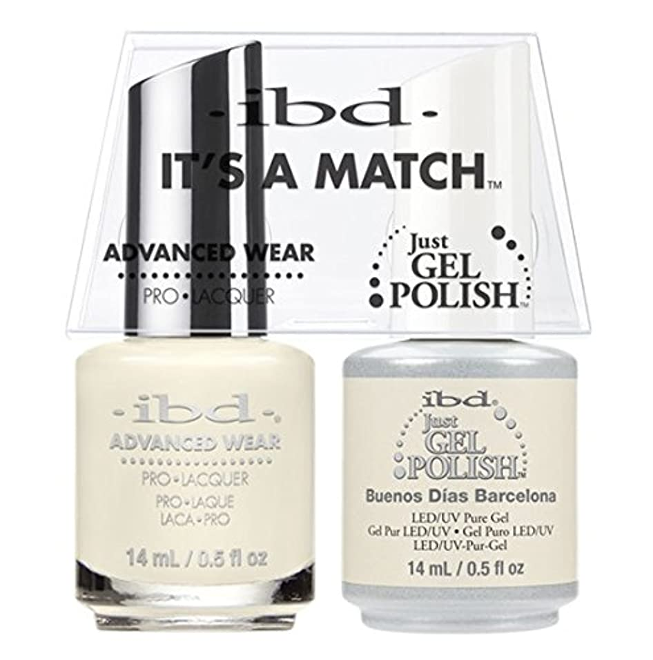 朝ごはん分数バッグibd - It's A Match -Duo Pack- Destination Collection - Buenos Dias Barcelona - 14 mL / 0.5 oz Each