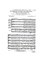 Hector Berlioz: The Shepherd's Farewell (English Text)- SATB/エクトル・ベルリオーズ:羊飼いの聖家族への別れ (英語版歌詞) 混声四部合唱. For 合唱, 混声四部合唱(SATB), ピアノ伴奏