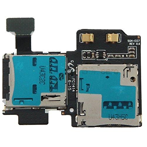 携帯電話の交換部品 SIMカードスロットフレックスケーブル、Samsung Galaxy S4 / i337用