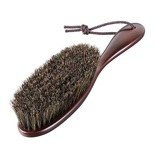 【ナカタハンガー】日本製 洋服ブラシ 馬毛 Clothes Brush Horse Hair マーズブラウン